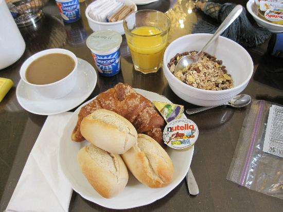 Pensione Guerrato: Breakfast options