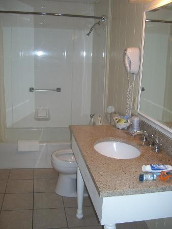 Lafayette's Oceanfront Resort: bathroom