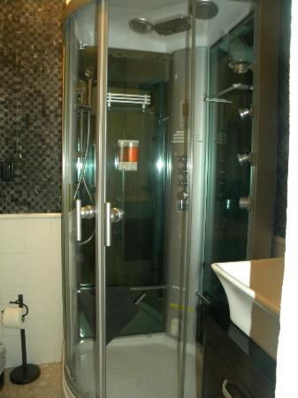 Coqui del Mar Guest House: Steam Shower