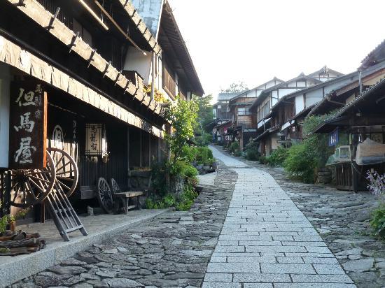 Magome-juku: 坂の宿場町