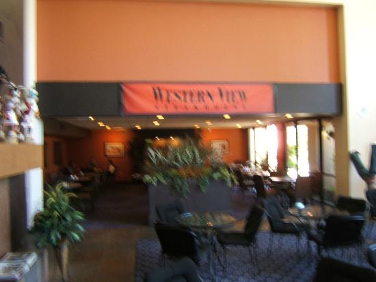 Western View Steakhouse: Front of Restuarant
