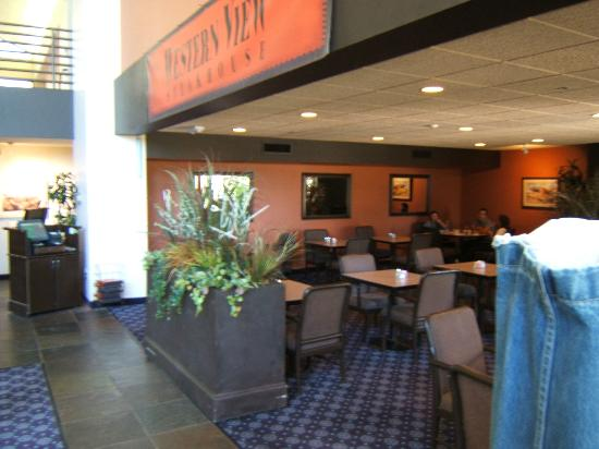 Western View Steakhouse: Front of Resturant