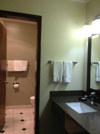 The Valley River Inn: bathroom -- room 315