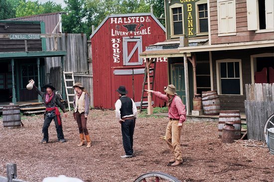 Union, IL: Wild west reenactment