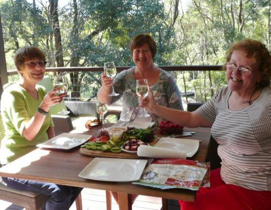 Spicers Tamarind Retreat: Lunch on the Verandah