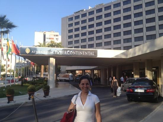 InterContinental Athenaeum: hotel entrance