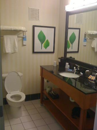 Fairfield Inn & Suites Seattle Bellevue/Redmond: Bathroom