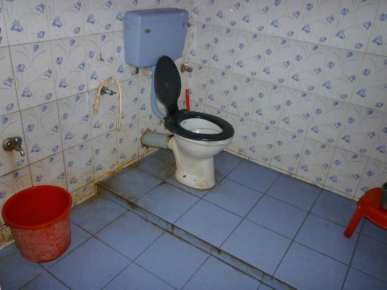 Victoria Homestay: Les toilettes qui paraissent plus propres sur la photo!