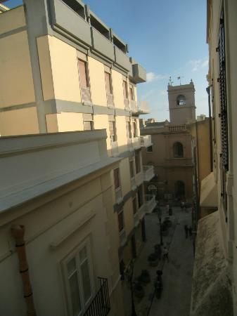 Best Western Hotel Stella D'Italia : View from Room on 3rd fl.