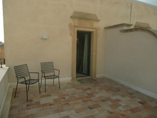 Best Western Hotel Stella D'Italia : Terrasse Room 403