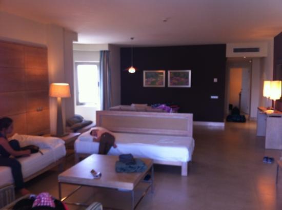 El Medano, إسبانيا: lounge area 