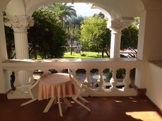 Grand Hotel La Sonrisa: balcony