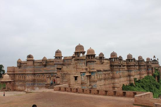Gwalior, Inde : A very different Fort to all the others