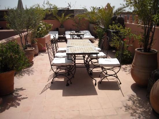Riad Sable Chaud: Terrazza Solarium del Riad