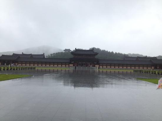 Baekje History Reproduction Complex: 入口付近