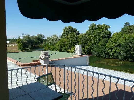 Mon Auberge : Vue de la terrasse