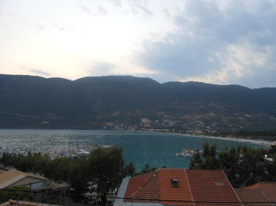 Vasiliki Blue: view from the apartment
