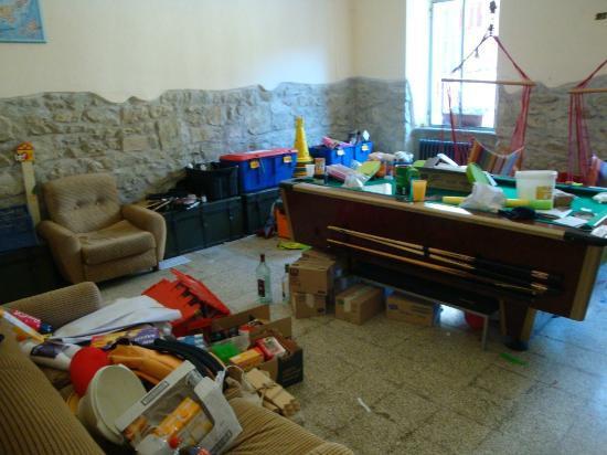 La Casa Sul Lago: sala giochi invasa
