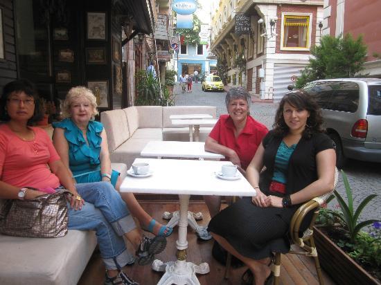 Adora Hotel: Hotel terrace.