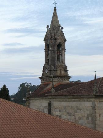 Nornas Hostel : La iglesia de Gondomar desde la habitación
