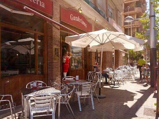 Terraza Exterior En Calle Garc A Trivi O Picture Of