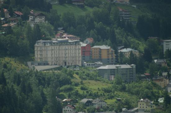 Hapimag Resort: The hotel from across the valley