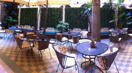 Hotel Medici: Lovely Terrace