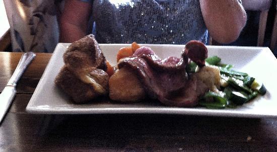 Sibton White Horse Inn: Fabulous Sunday lunch