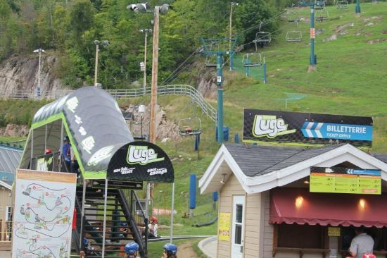 Skyline Luge Mont-Tremblant: The Skyline Luge!