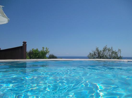 Livadaki Village Hotel: View from pool