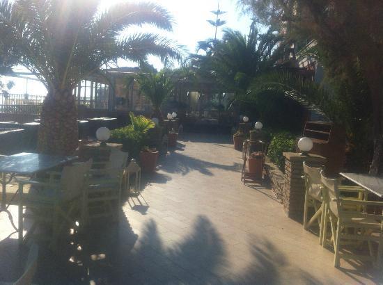 Balcony Hotel: Terasse