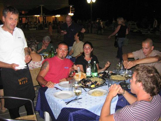 Riva: Owner of the restaurant, Mr. Edi & his gests