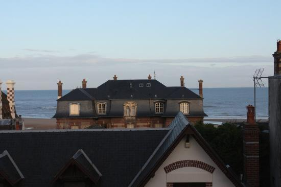 Hotel Villa les Bains : vue