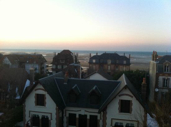 Hotel Villa les Bains: vue