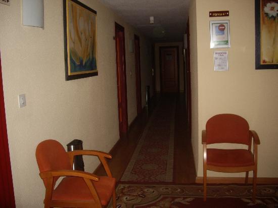 Hotel Mari Carmen: pasillo