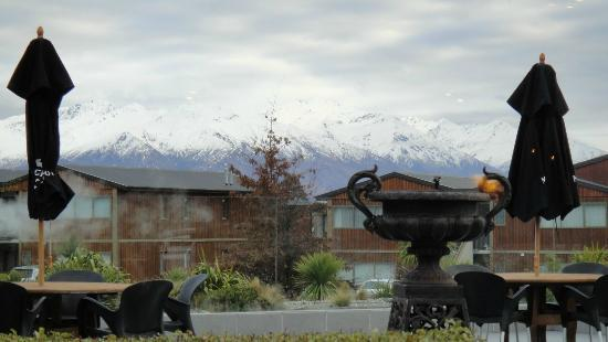 Mercure Oakridge Resort Lake Wanaka: view from the restaurant
