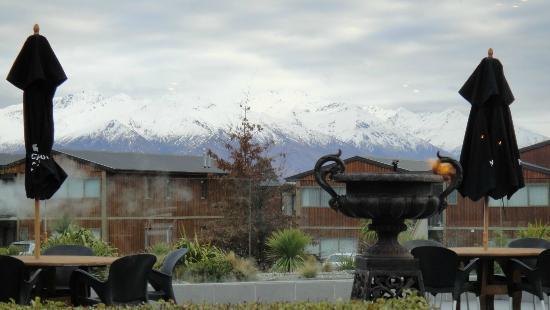 Oakridge Resort Lake Wanaka: view from the restaurant