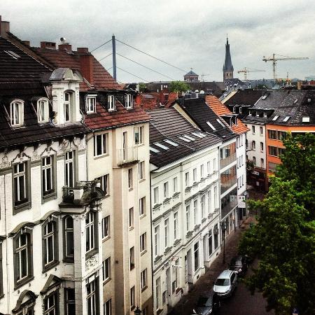 Carathotel Duesseldorf: View from Room 603