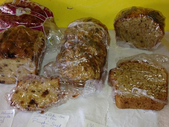 Burren Yoga Retreats: home baked breads each day