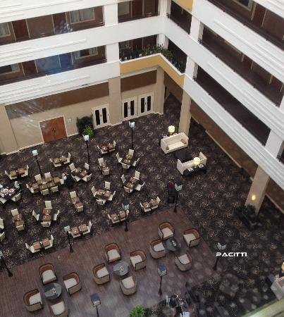 Sheraton Suites Chicago O'Hare: Atrium View