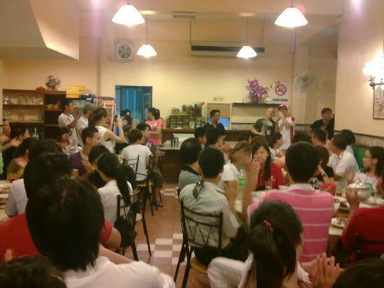 Restoran Nyonya Suan: co-operate dinner 2