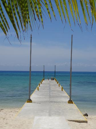 Pier at the beach at Allegro Cozumel