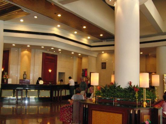 Golden Flower Hotel, Xi'an: Recepcion