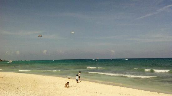 Acanto Condo Hotel & Vacation Rentals: About 2 blocks away from a beautiful beautiful beach