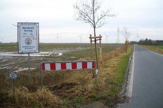 Landgasthof Rentoft Krug: Ein kurzer Weg der sich lohnt. Mit dem Rad oder auch zu Fuß!