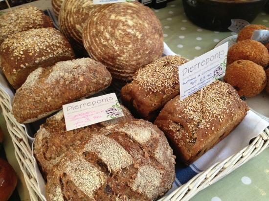 Pierreponts Cafe: Rustic Breads