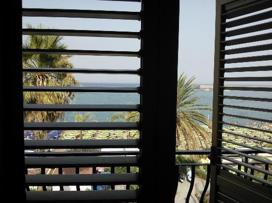 Hotel La Sirenetta : vista dalla nostra camera