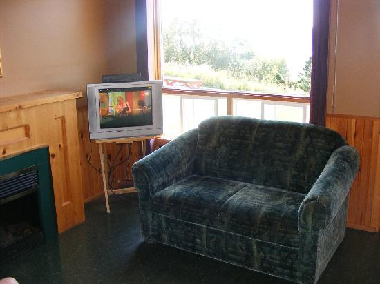 Vista Ridge Cottages: Living area