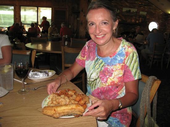 Dockside Seafood House : The seafood platter