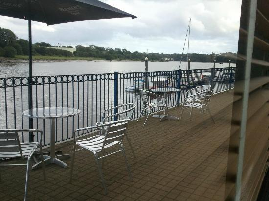 Waterford Marina Hotel: a view from the restaurant